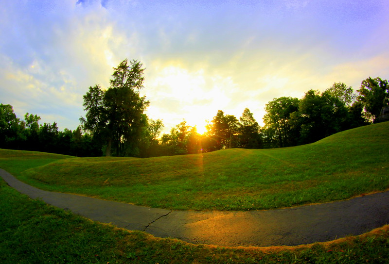 Serpent Mound Sunrise