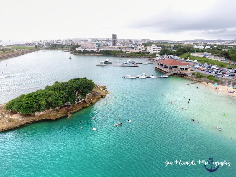 Drone Photography, Kadena Marina, Okinawa Japan