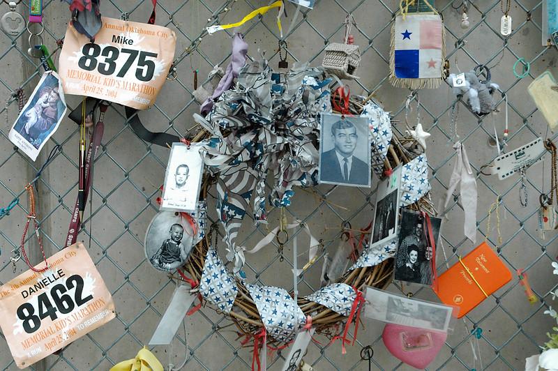 Oklahoma City Memorial Fence