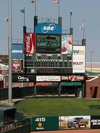<br><br><font size=3>The scoreboard.</font>