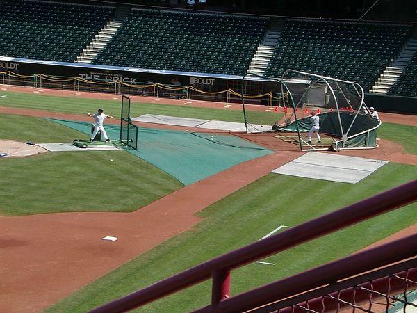 <br><br><font size=3>More batting practice.</font>