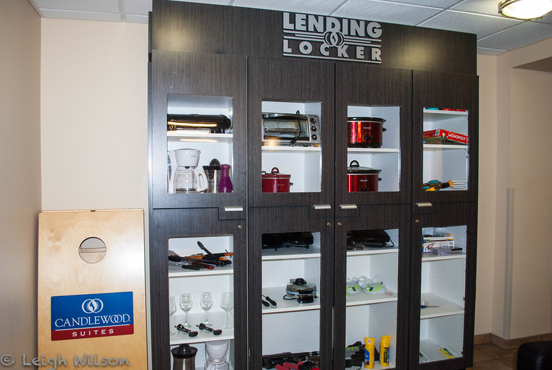 Candlewood Suites lending locker<br /> Olathe, KS