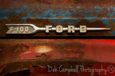 Ford Truck Side Emblem