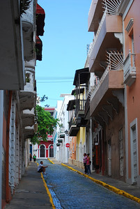 Street in Old San Juan