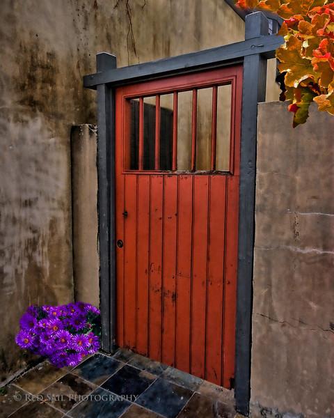 Gate on St. George Street, St. Augustine