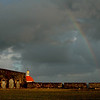 Rainbow over the Fort and Sea