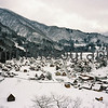 Shirakawa-go, Gifu-ken, Japan.<br /> January 1998.