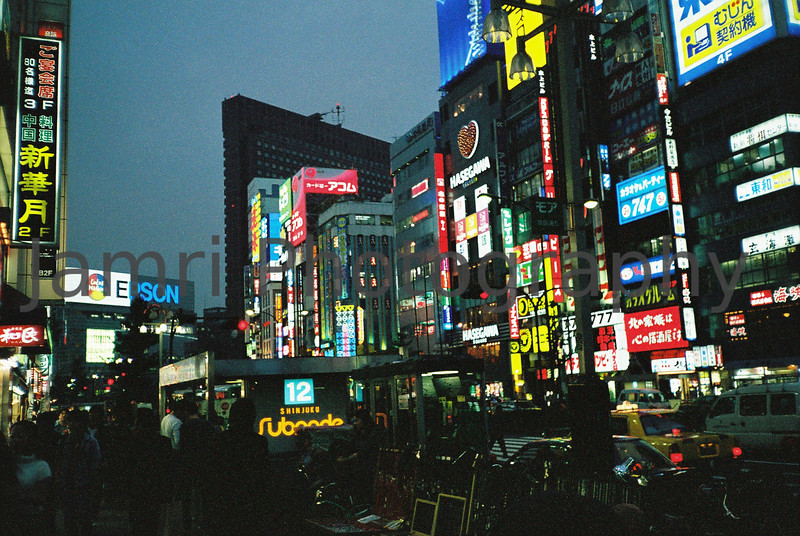 Neon City.<br /> Somewhere in Tokyo. October 1999.