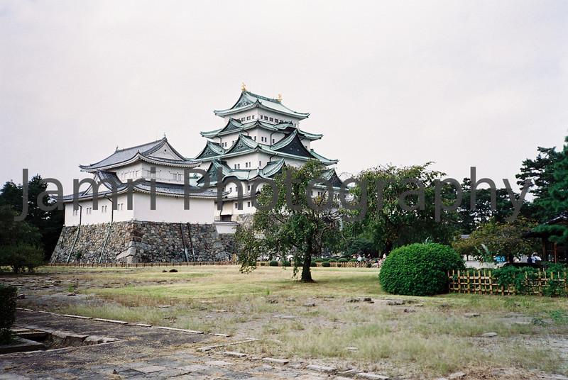 Nagoya Castle.<br /> October 1999.