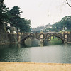 Imperial Palace, Tokyo, Japan.<br /> January 1998.