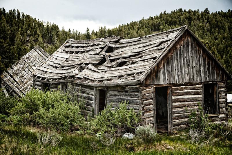 Elkhorn Mining Town, Montana