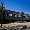 Old Train in Anaconda, Montana