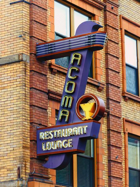 Acoma Restaurant, Butte, MT<br /> Montana