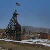 Mine shaft in Butte, Montana