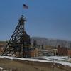 Mine shaft in Butte, Montana