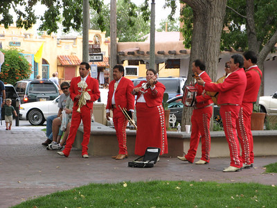 Mariachi band at Old Town Albuquerque