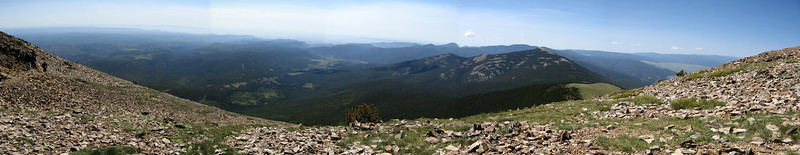 Panorama - South from Baldy