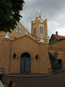 Church at Old Town Albuquerque