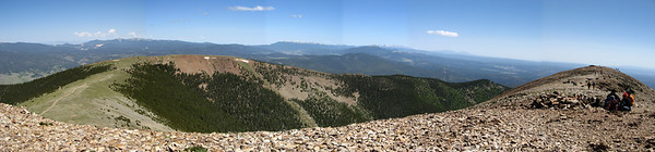 Panorama - North from Baldy