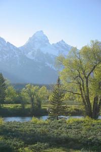 Grand Teton view from Dornan's