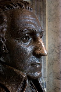 George Washington - Inside the capitol building - Olympia, Wa