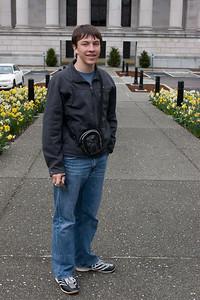 Nathan at the capitol