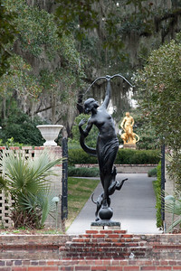 Statues at Brookgreen