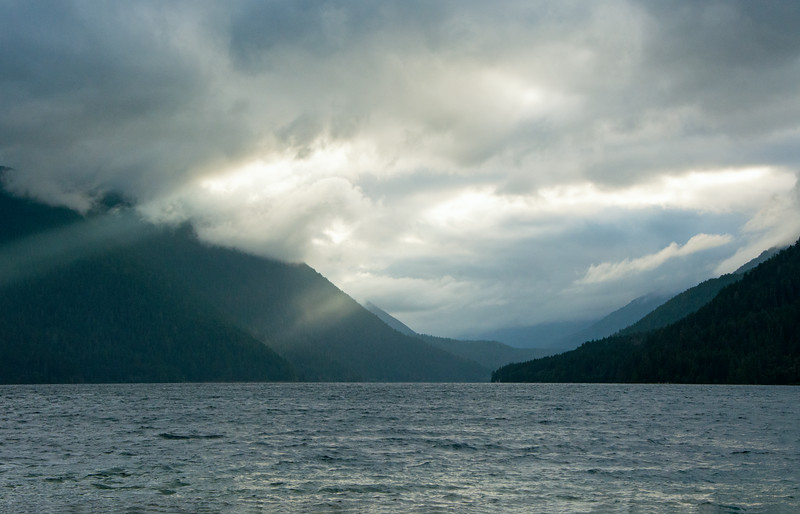 Lake Crescent, Olympic National Park, WA   God's Rays