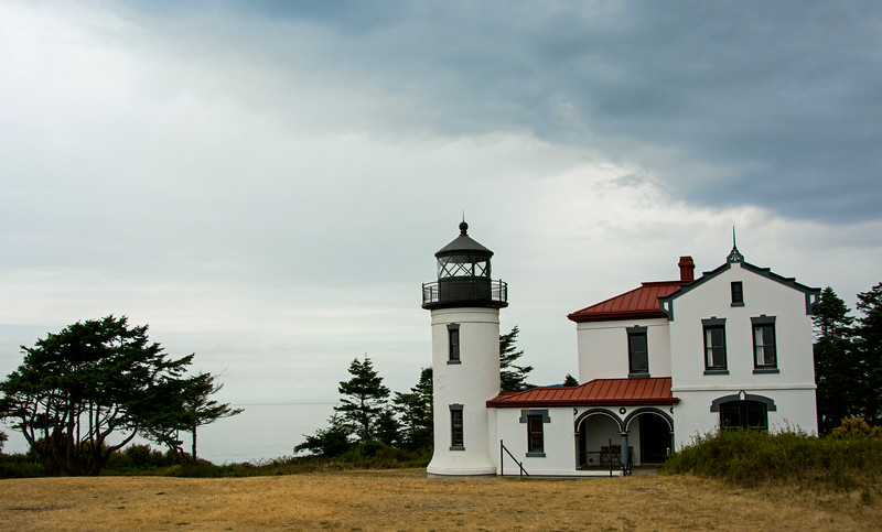 Admiralty Lighthouse, Whidby Island, WA