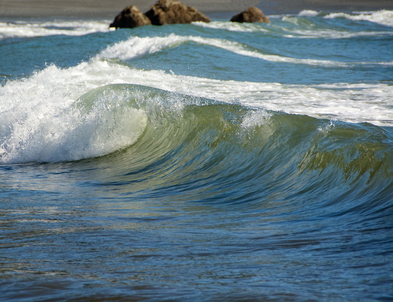 Waves at Second Beach, Olympic National Park, WA