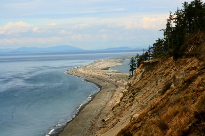 Dungeness Spit - view from the top