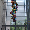 "<b><i>""Glowing Gemstone Polyvitro chandelier""</i> Dale Chihuly </b> <br> blown plastic, 25 ft. <br>  Josyln Art Museum </br> Omaha Nebraska"