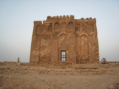 While this building near Qalhat is known as the Bibi Maryam tomb, the person buried here is Bibi Maryam's husband Baha al-Din who died around 1312AD (712H).  Baha al-Din was the son of Mahmud b. Ahmad al-Qusi al-Qalhati the founder of the Hormuz empire. The name probably sounds familiar as the straits of Hormuz between Oman and Iran at the entrance to the Persian Gulf, come up regularly in the news.