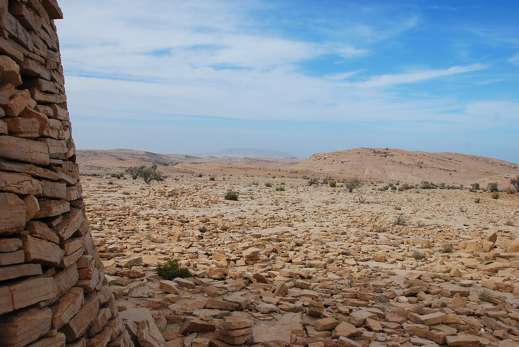 From one of the tombs looking over the plateau.
