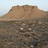 Mountain and desert near Hamra
