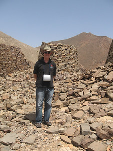Colin at the Al Ayn tombs