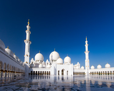 Sheikh Zayed Grand Mosque (Abu Dhabi, United Arab Emirates 2017)