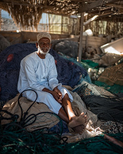 Traditional Fisherman (Qantab, Sultanate of Oman 2017)