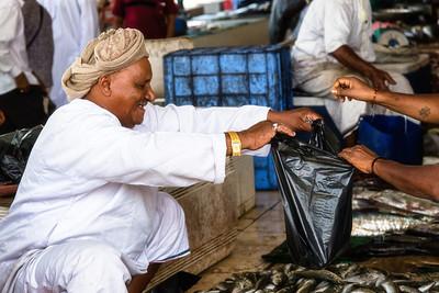 Muscat fish souk