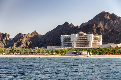 Luxury hotel in Muscat from our dhow cruise