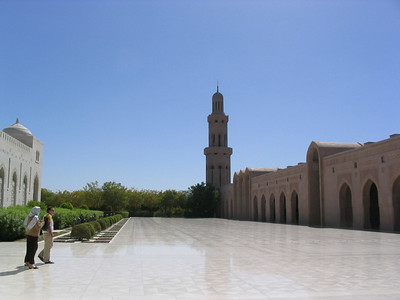 Grand mosque interior, ladies mosque on the left.