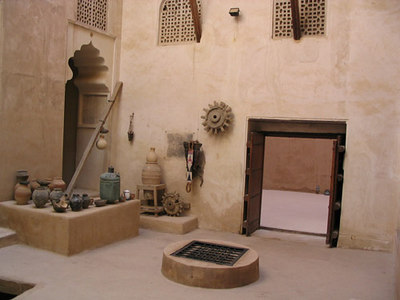 Interior at Jabrin Castle