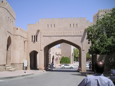 Town gate in Nizwa.