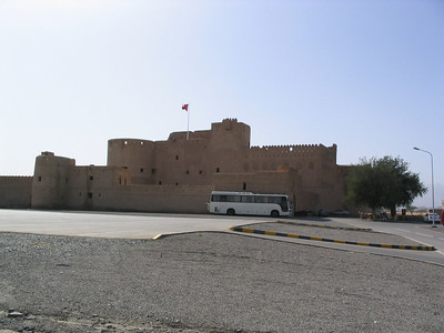 Jabrin castle.  My favourite!