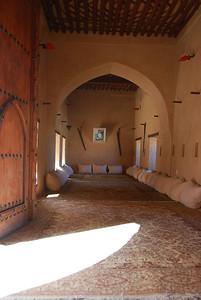 Winter majlis at Nakhal Fort, Oman