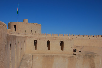Taken from the battlements at Rustaq Castle.
