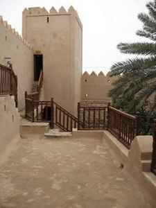 Taqah Castle which dates back to the 19th century has recently been fully renovated.