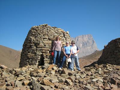 Three Kiwis at Al Ayn in Oman.