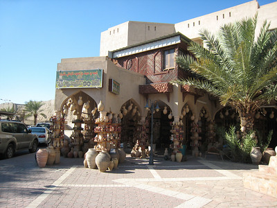 Pottery shop at the Nizwa souq