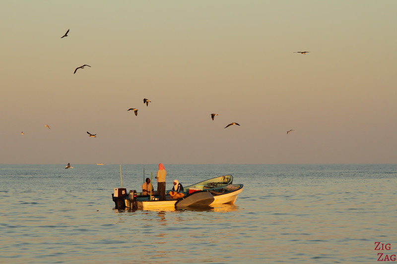 Oman photos - fishermen